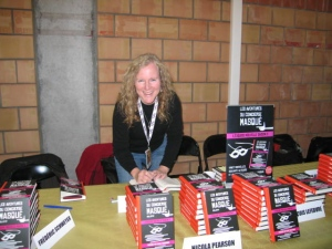 Signing books in Lille
