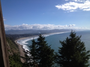 A view of just part of the Oregon Coast