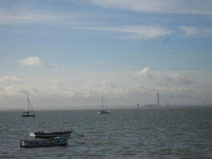 Sheerness across the water