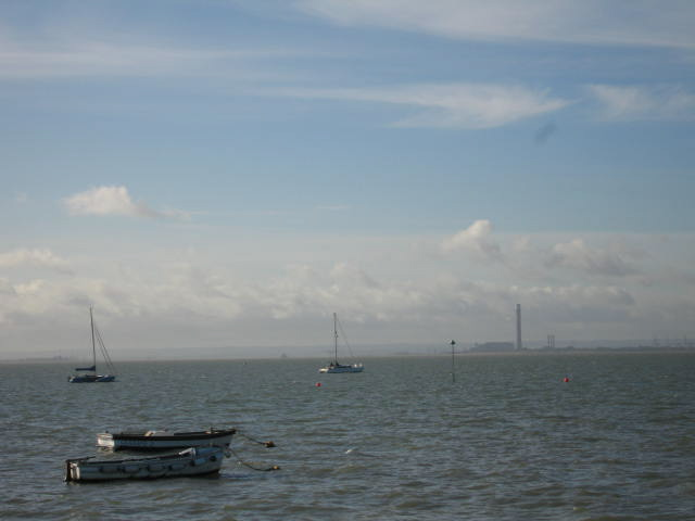 Sheerness, across the water