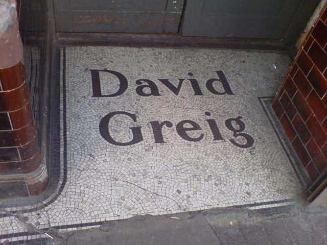 David Greig mosaic