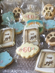 60th cookies