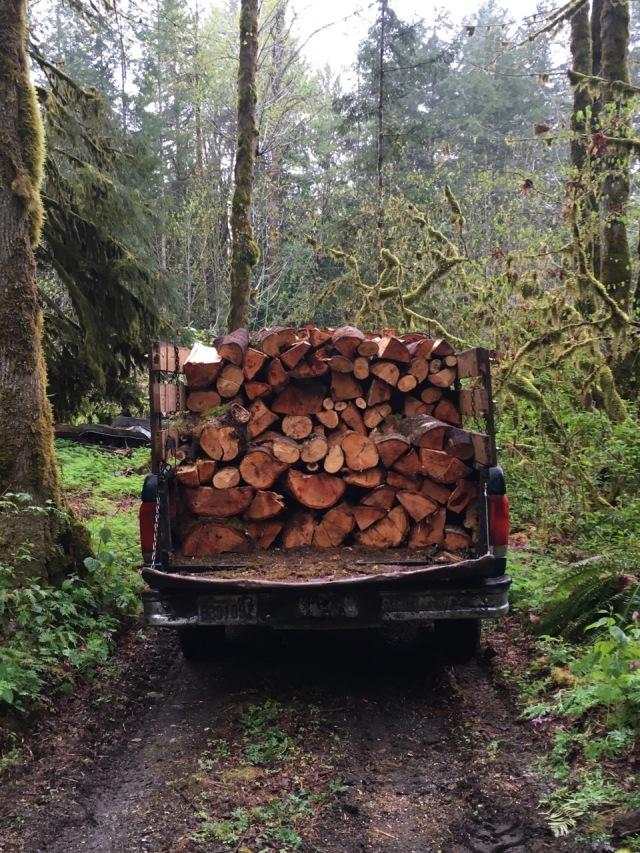 Truck loaded